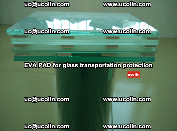 EVA CORK PAD for laminated safety glass transportation protection (14)