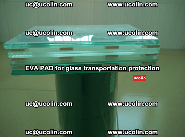 EVA CORK PAD for laminated safety glass transportation protection (28)