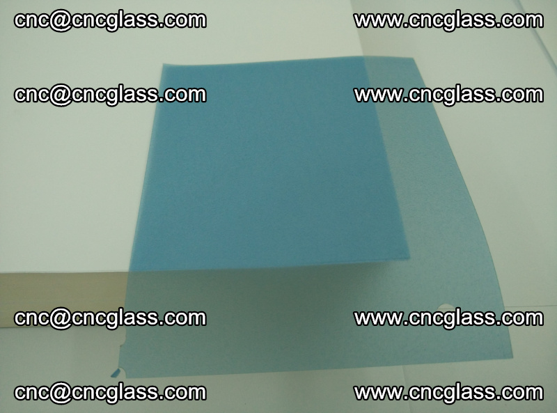 EVA glass interlayer film for safety glazing royal blue (transparent) (11)