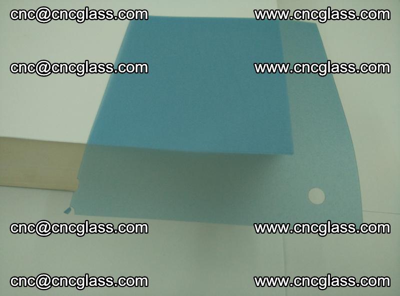 EVA glass interlayer film for safety glazing royal blue (transparent) (15)