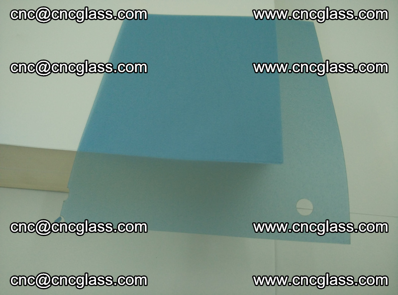 EVA glass interlayer film for safety glazing royal blue (transparent) (16)