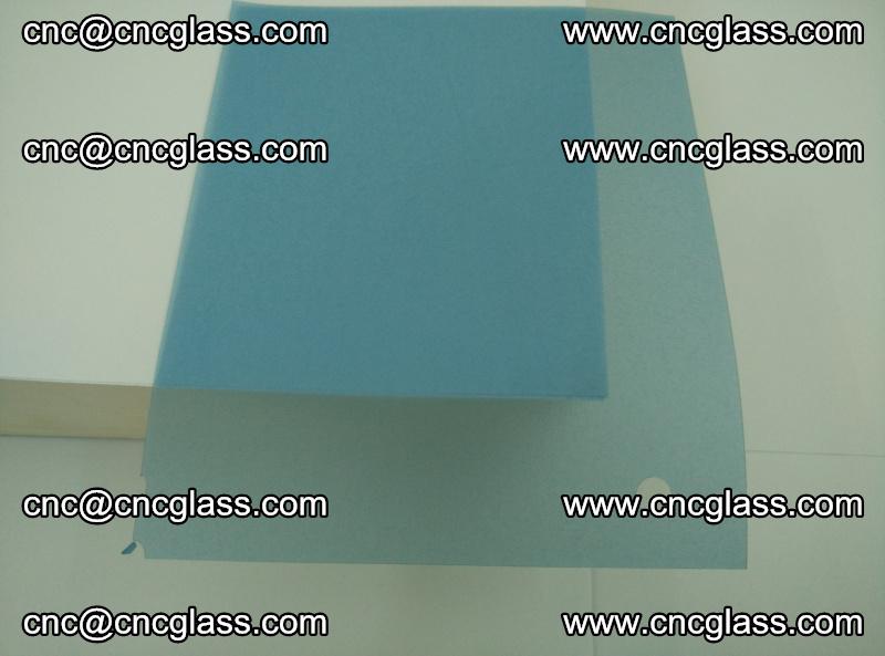 EVA glass interlayer film for safety glazing royal blue (transparent) (18)