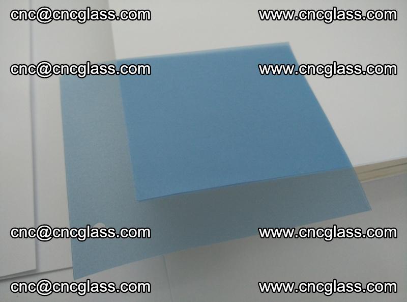 EVA glass interlayer film for safety glazing royal blue (transparent) (2)