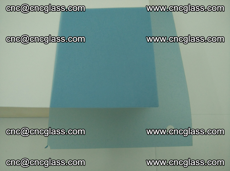 EVA glass interlayer film for safety glazing royal blue (transparent) (20)
