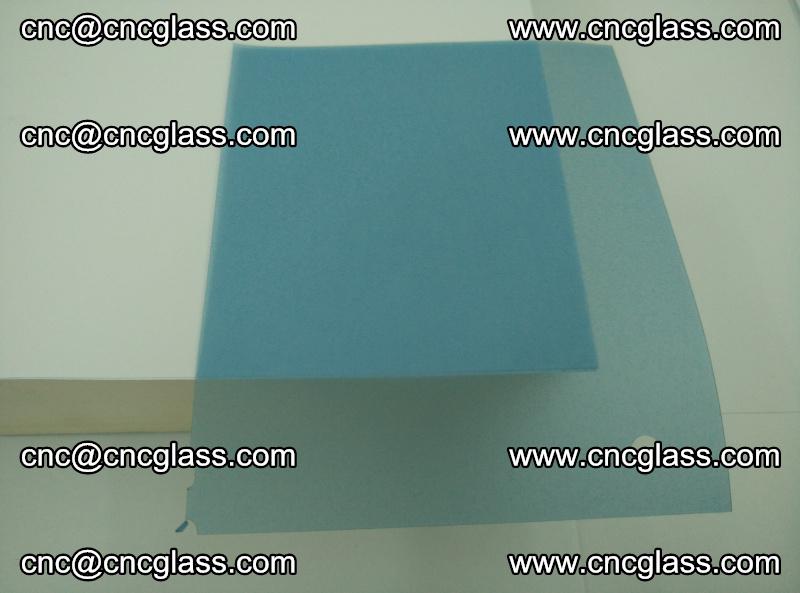EVA glass interlayer film for safety glazing royal blue (transparent) (7)