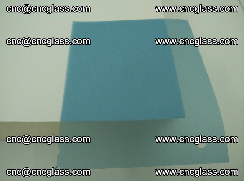 EVA glass interlayer film for safety glazing royal blue (transparent) (8)