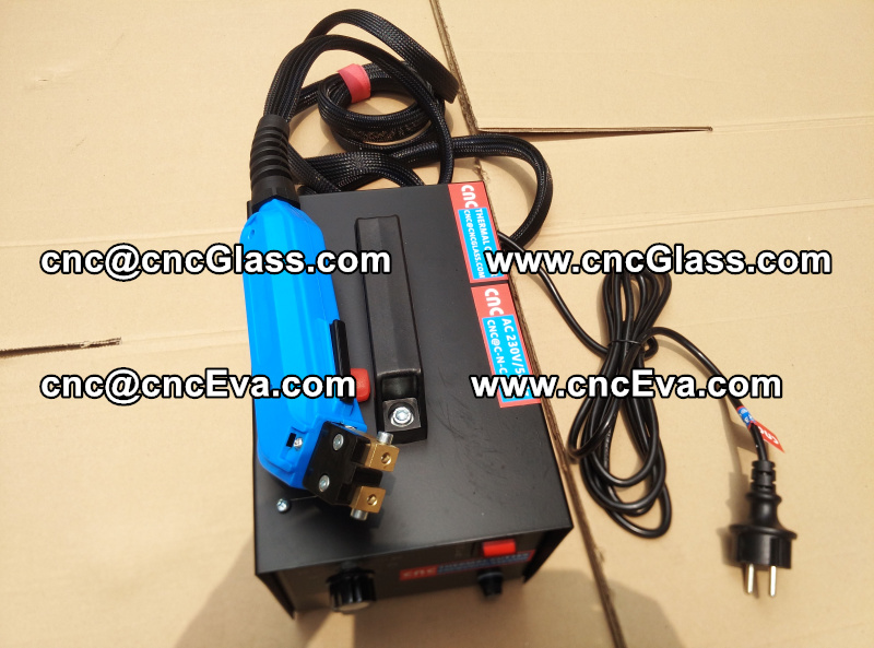 HEAT TRIMMER for laminated glass edges Hot Knife, Thermal Cutter (1)