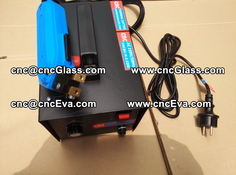 HEAT TRIMMER for laminated glass edges Hot Knife, Thermal Cutter (5)